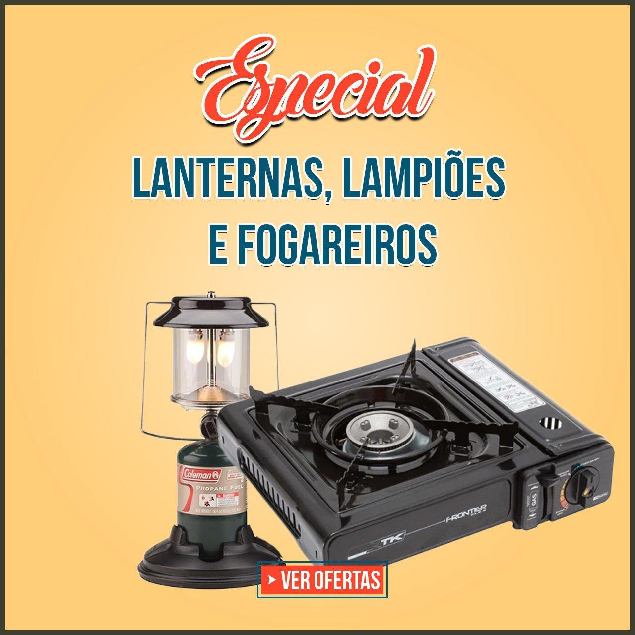 ESPECIAL LANTERNAS, LAMPIOES & FOGAREIROS