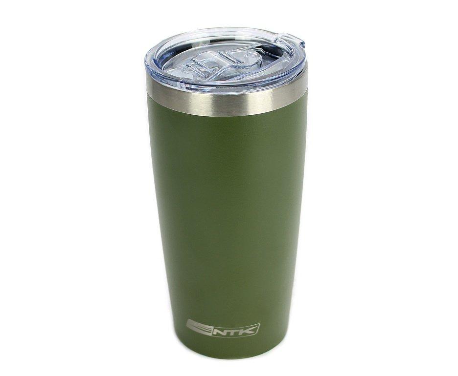 Copo Cerveja Térmico Aço Inox Avalon 570ml Verde - Ntk