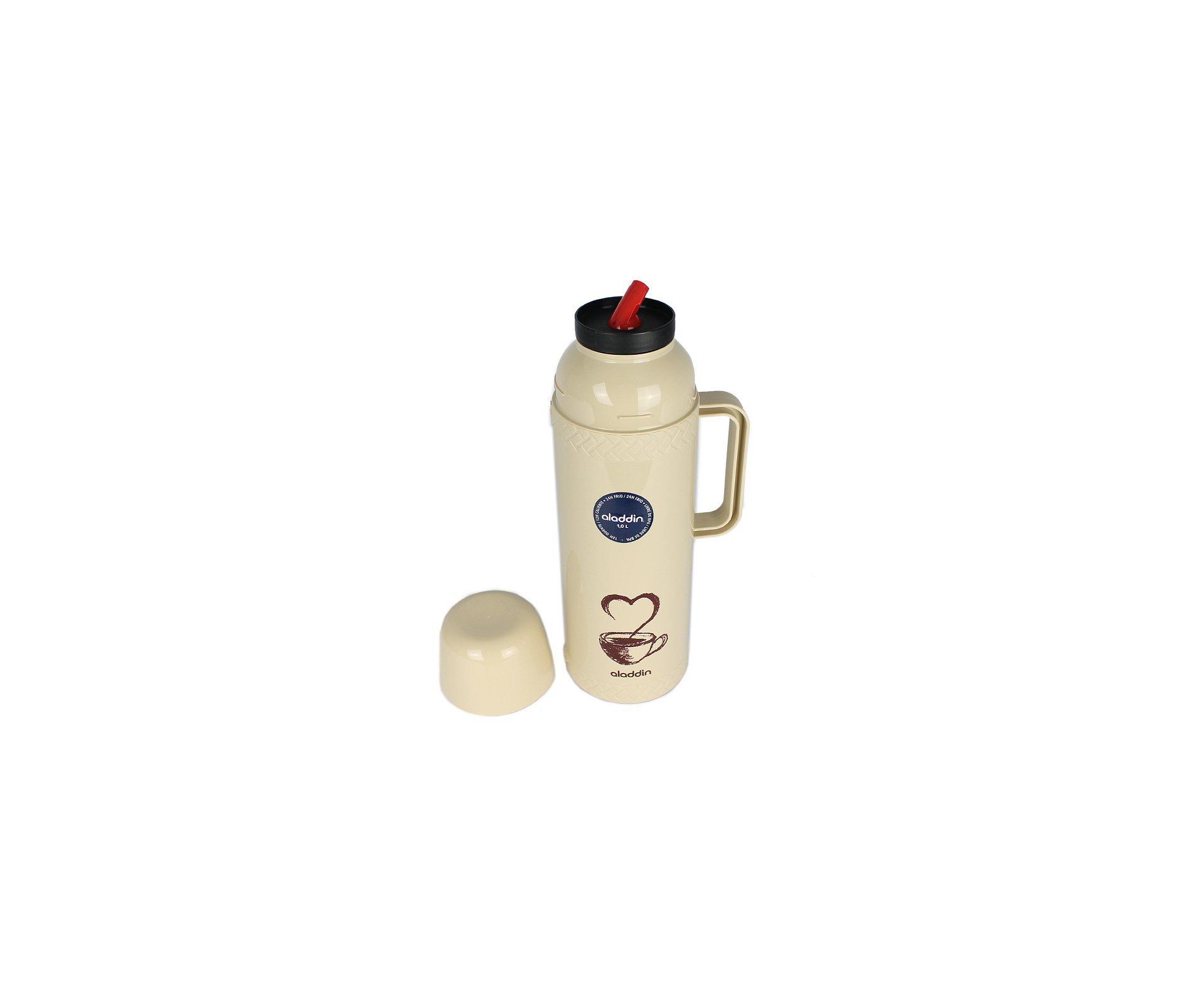 Garrafa Termica Alladin Chimas Coffee 1Lt Bege
