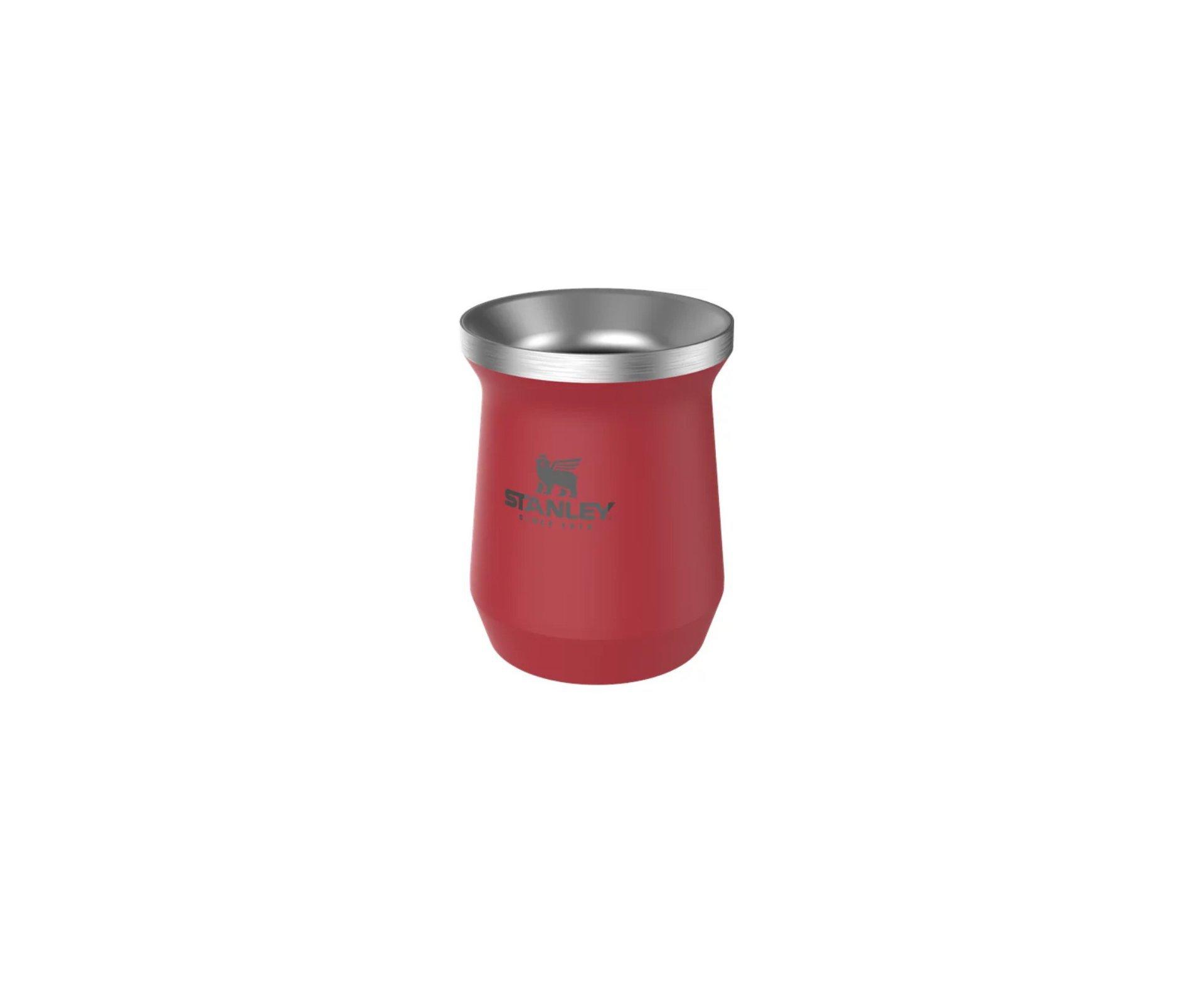 Cuia Térmica Stanley para Chimarrão e Tererê Red 236ml