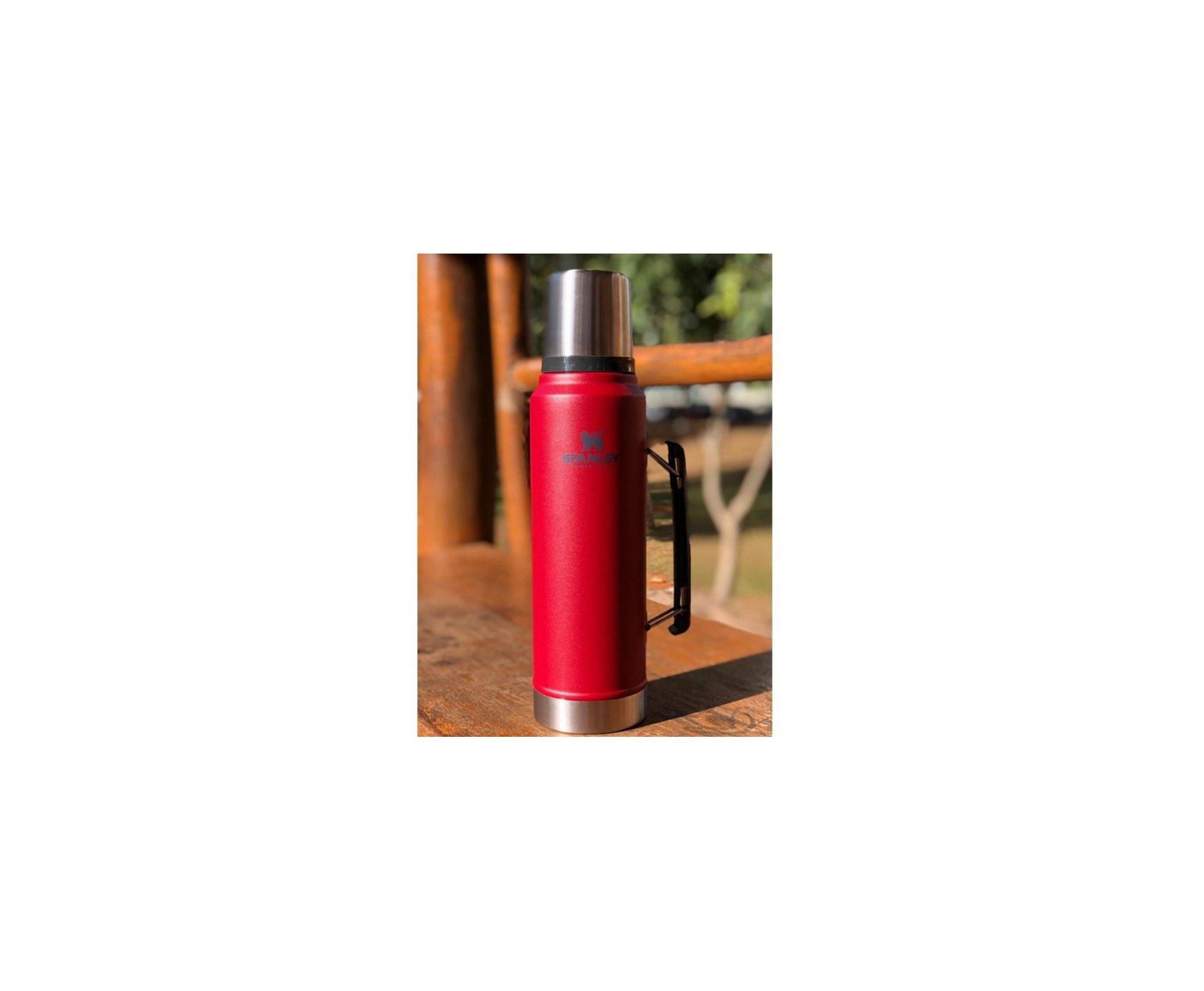 Garrafa Termica Stanley Classic Red 946 Ml