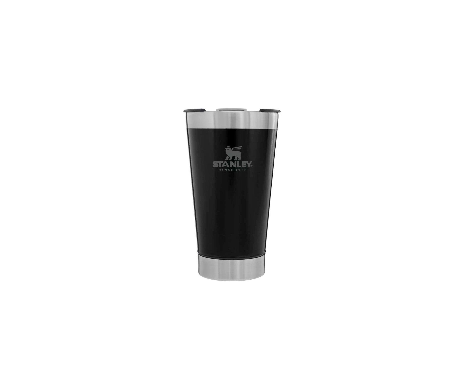 Copo Térmico de Cerveja Com Tampa Black 0.473L - Stanley