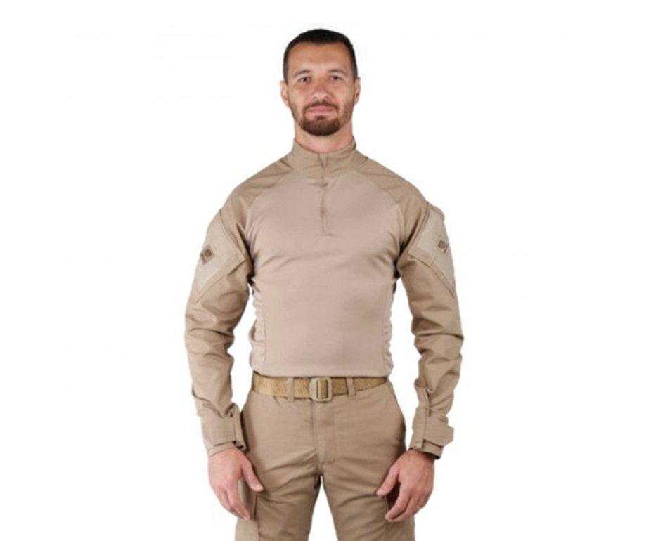 Camisa Combat Shirt Steel Tan - Belica