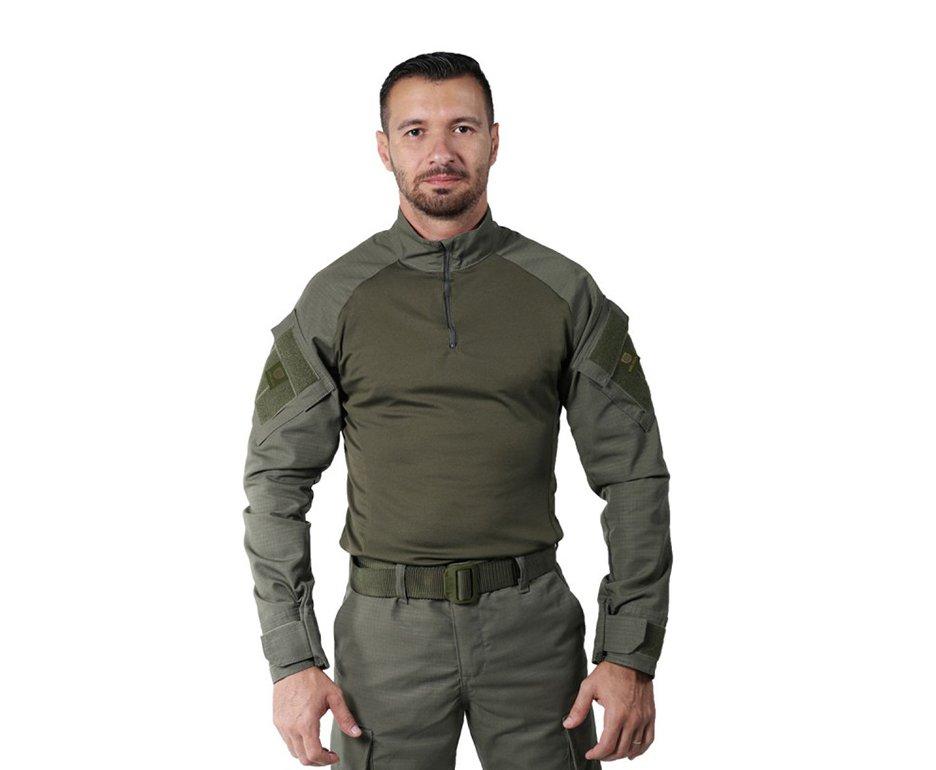 Camisa Combat Shirt Steel Verde Oliva - Belica