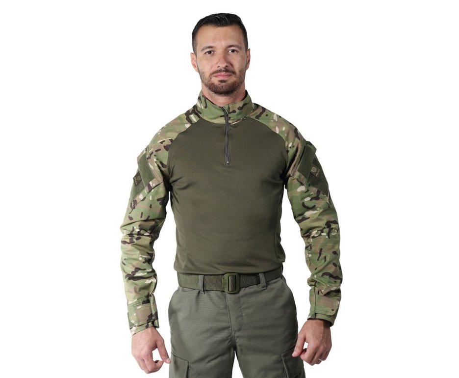 Camisa Combat Shirt Steel Camuflado Multicam - Belica