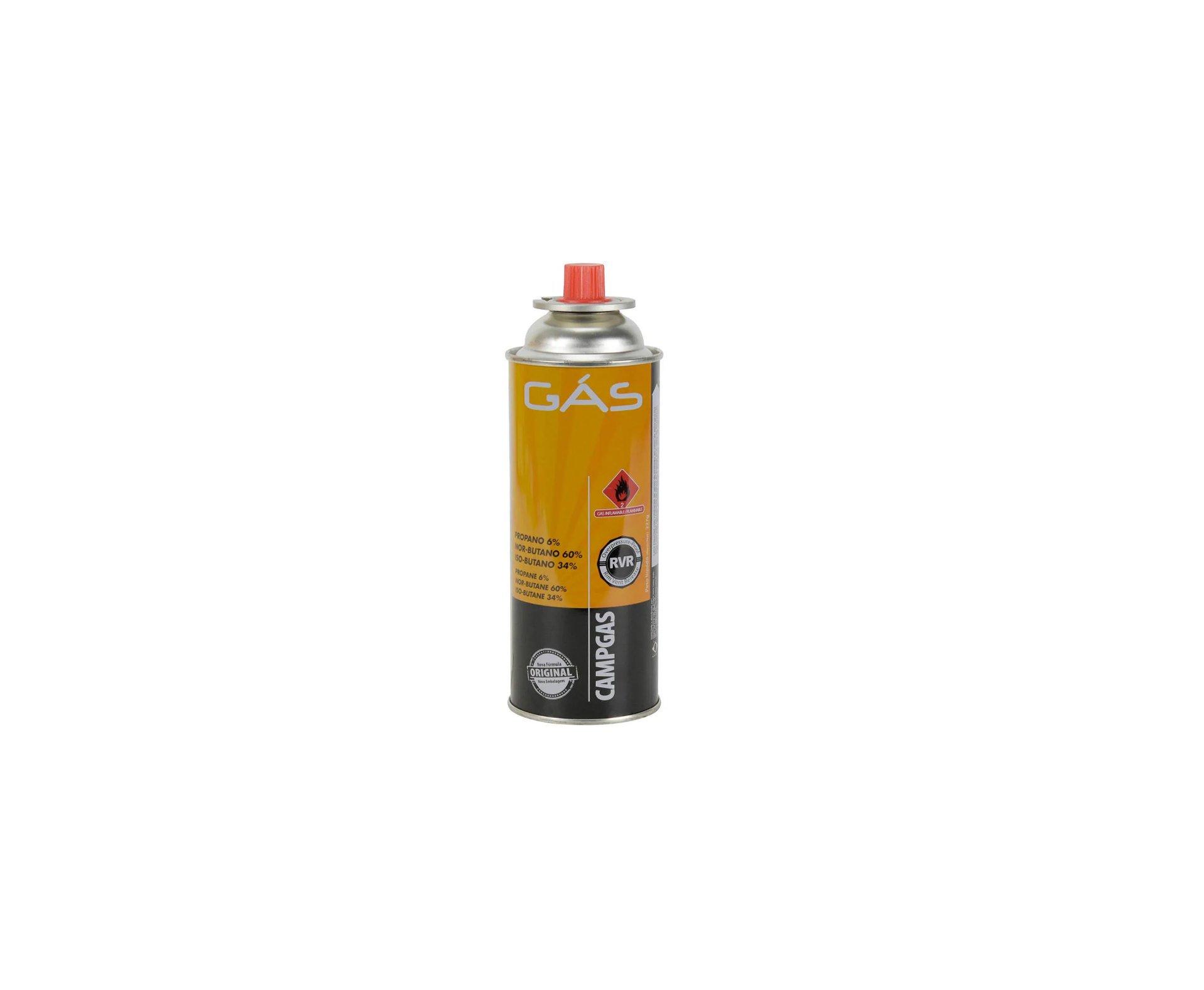 Refil Gas Para Fogareiro Campgas Com 4 Und - Nautika