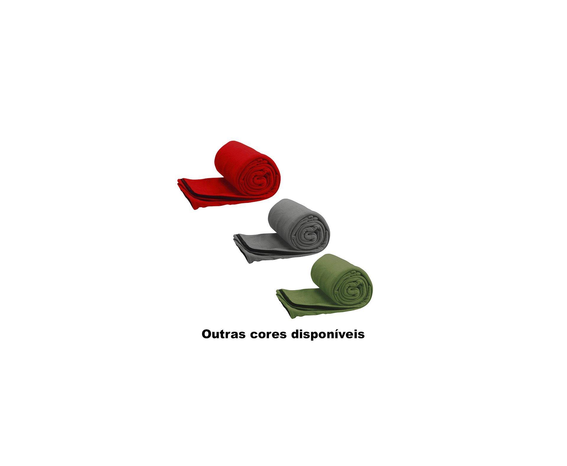 Saco De Dormir Coleman Stratus Fleece - Cinza
