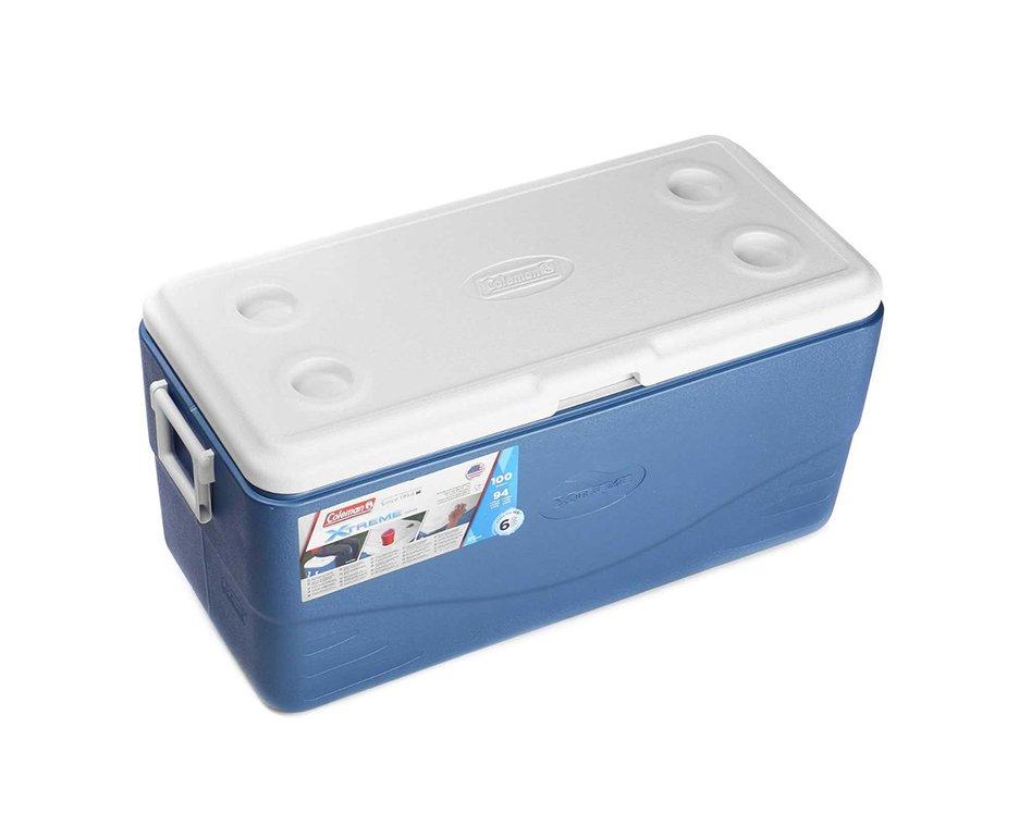 Caixa Térmica Extreme Coleman 100 Qt, 94,6l Azul
