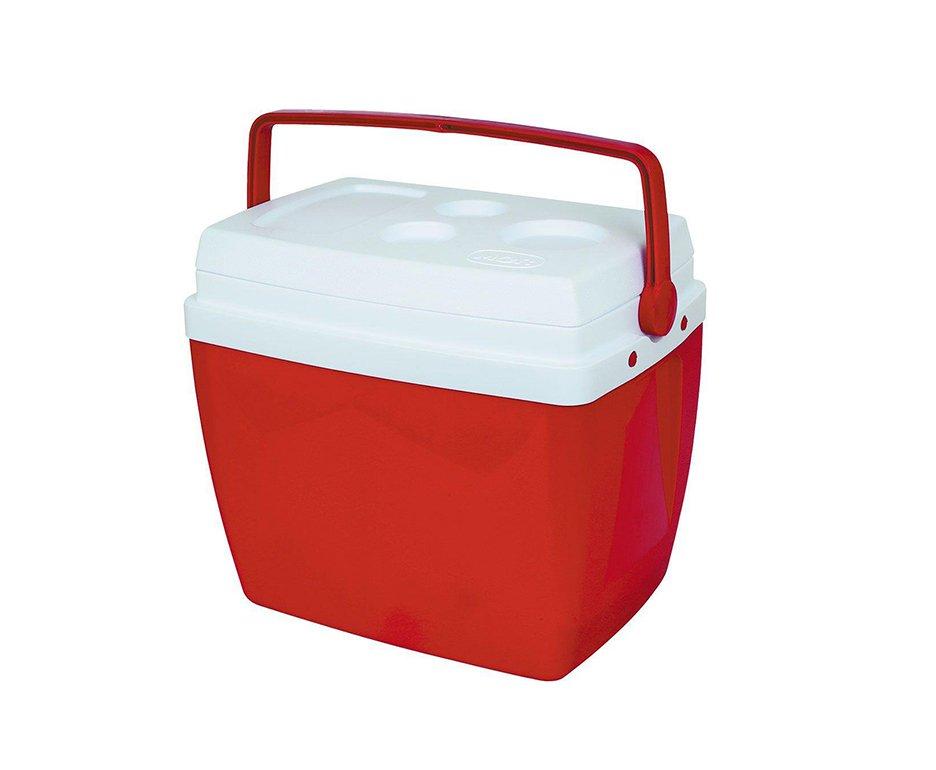 Caixa Térmica Mor 12l Com Alça Transporte - Vermelha