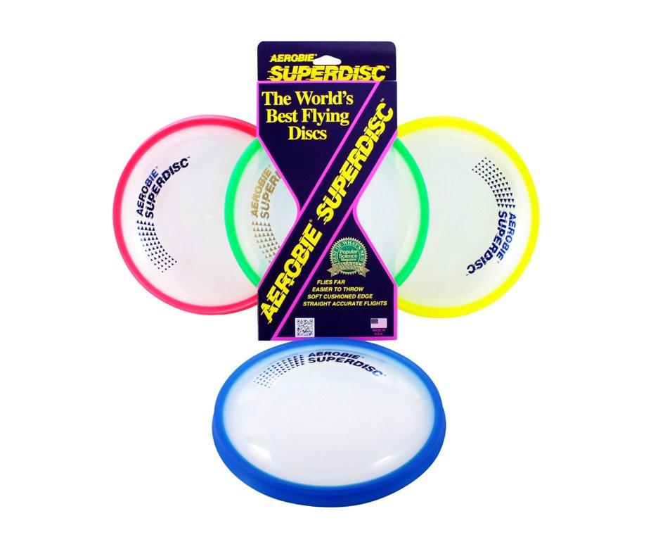 Disco Frisbee Super Aerobie 25t12/25r12 - Cores Variadas