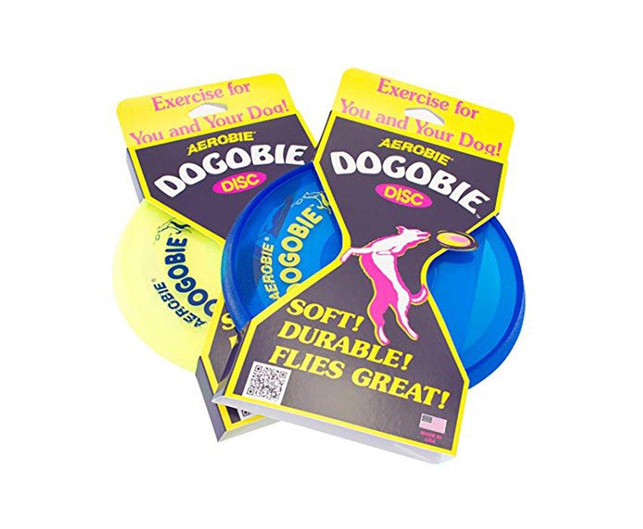 Disco Frisbee Aerobie Dogobie Dog Toy 28c12  - Cores Variadas