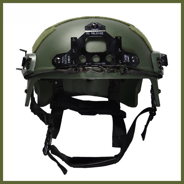 Capacete Tático Para Airsoft/paintball Mod Ibh X Olive Drab