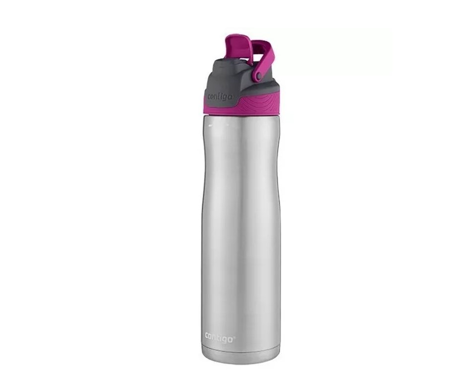 Squeeze Contigo Autoseal Chill Aço Inox 710ml Rosa Berrt