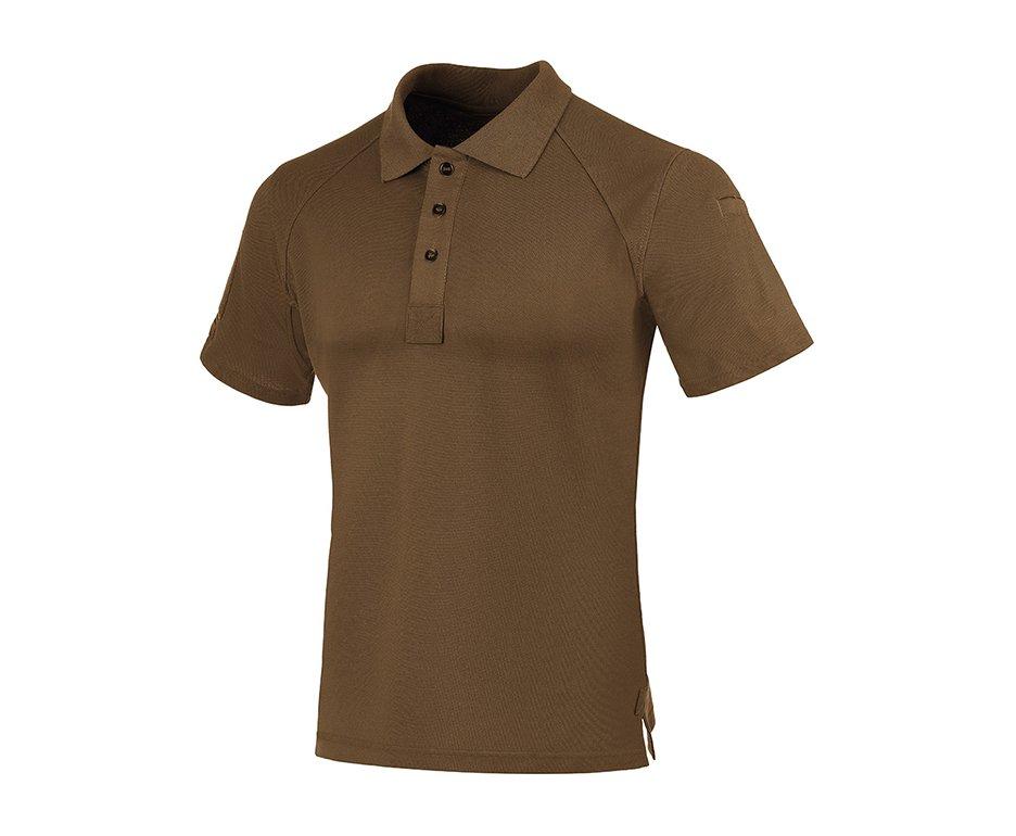 Camisa Tatica Polo Invictus Control Marrom Apache