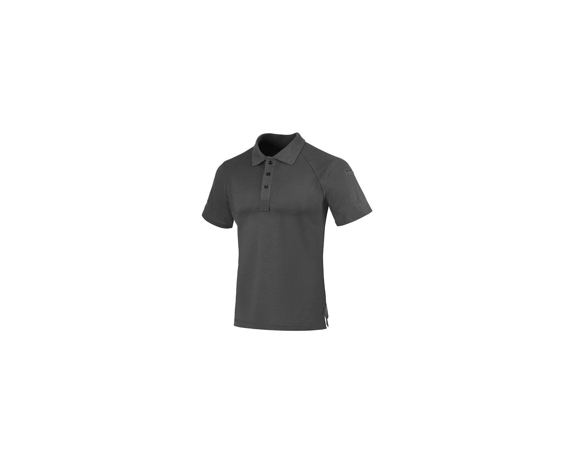 Camisa Tatica Polo Invictus Control Cinza Pilot  - P