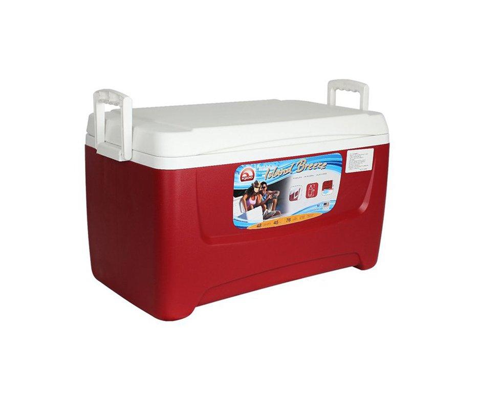 Caixa Termica Cooler Igloo Usa 48qt / 45l Vermelho