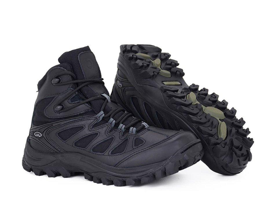 Bota Tática Trekking Hiking Airstep Boot  5700-1 Black