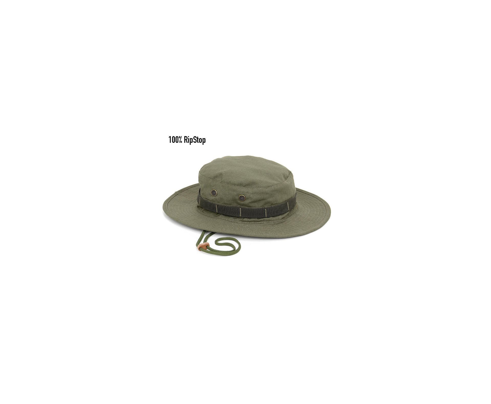 Chapeu Boonie Hat Em Ripstop - Olive Drab - Forhonor - M