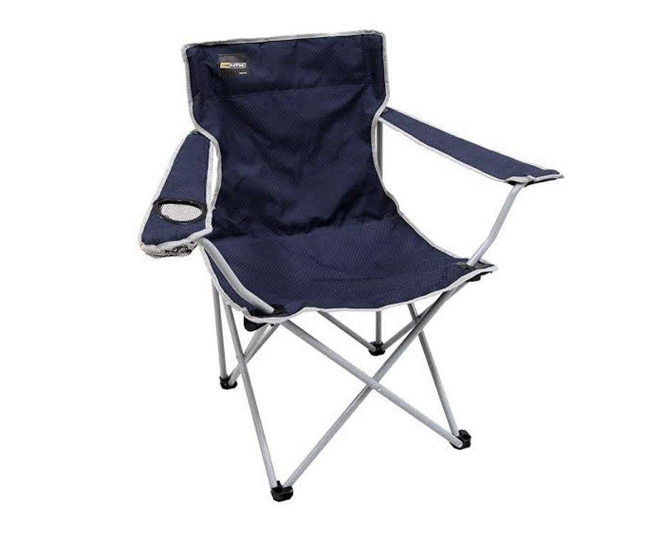Cadeira Camping Alvorada Dobravel Azul - Nautika