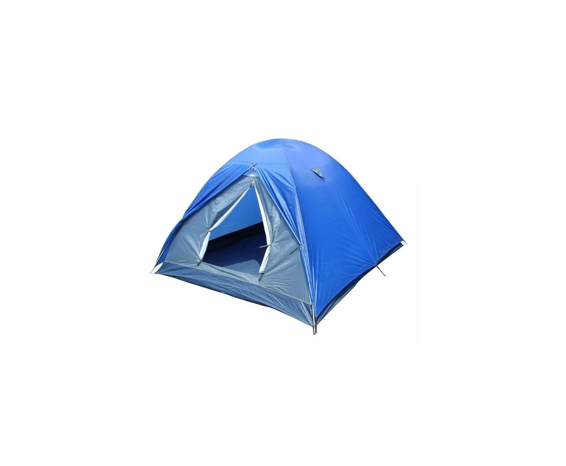 Barraca Para Camping Fox 6/7 Ntk Até 7 Pessoas Com 1800 Mm De Coluna D'água Fácil De Armar