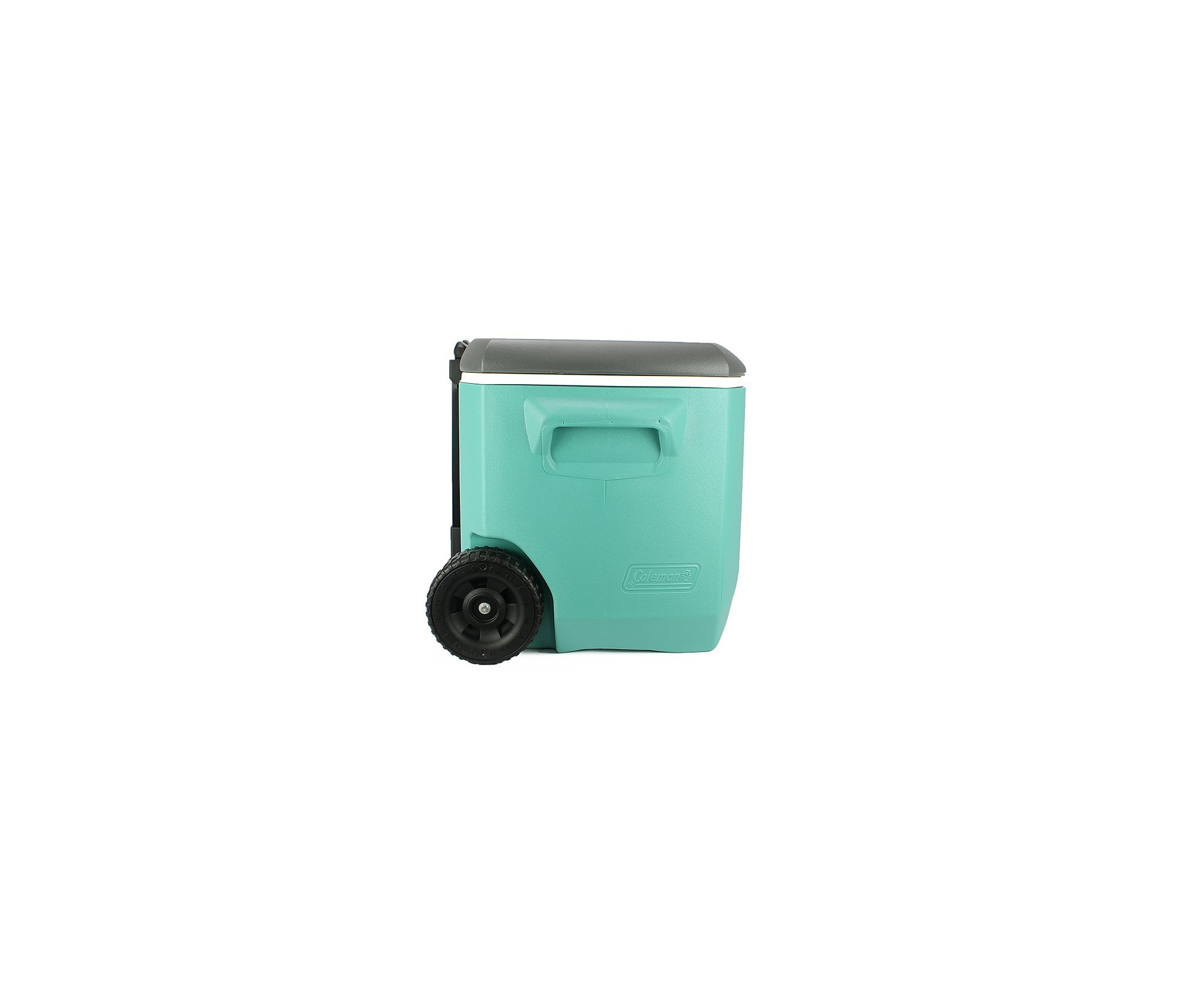 Caixa Termica Coleman 60qt 56,7litros Com Alça E Rodas - Vd/br/cz