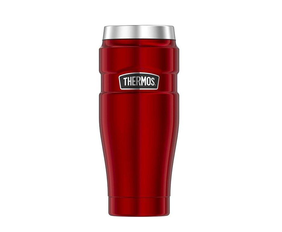 Copo Termico Para Cerveja Thermos Fuji Vermelha 470ml