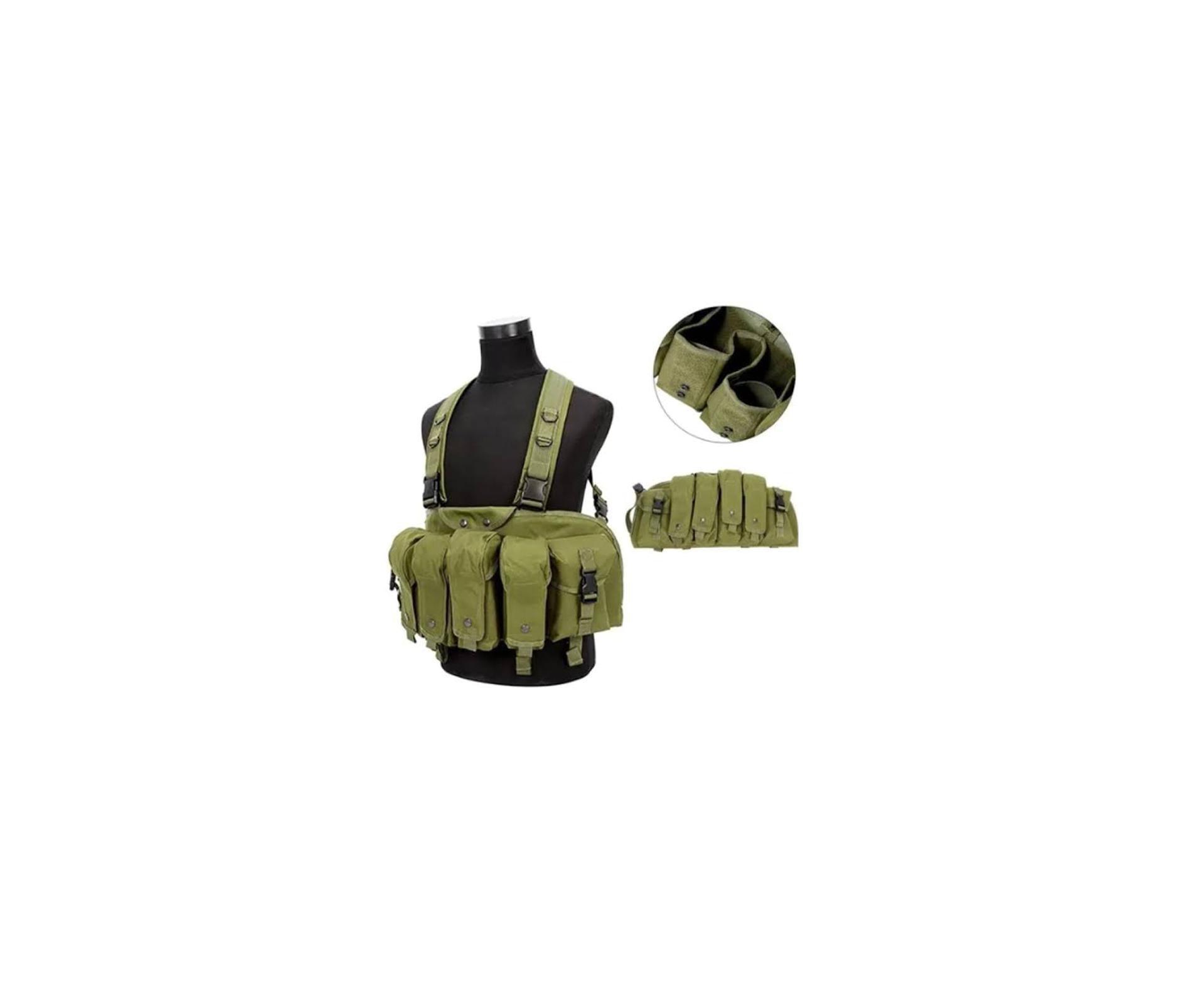Colete Suspensório Tatico - Ak Chest Harness - Ct-1071od