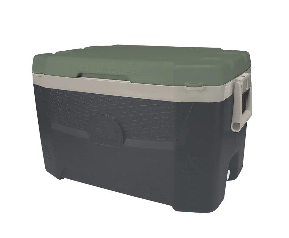 Caixa Térmica Igloo Usa Sportsman Contour 55qt 52l Verde/cinza