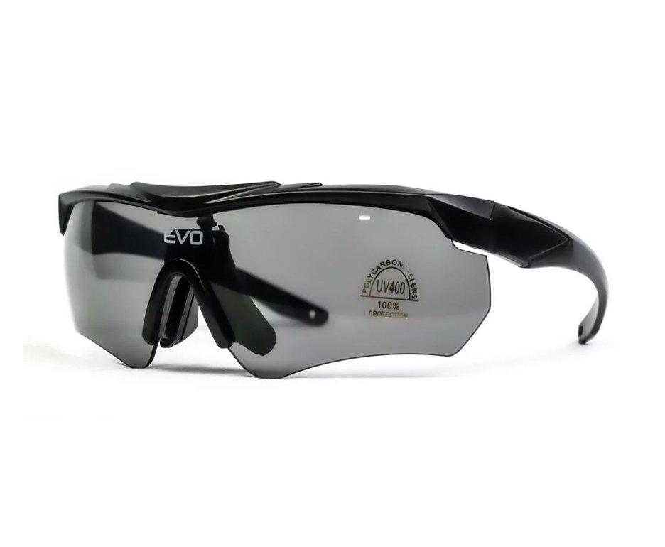 Oculos De Proteção De Tiro G034bk Kit 3 Lentes Sport Glasses - Evo Tactical