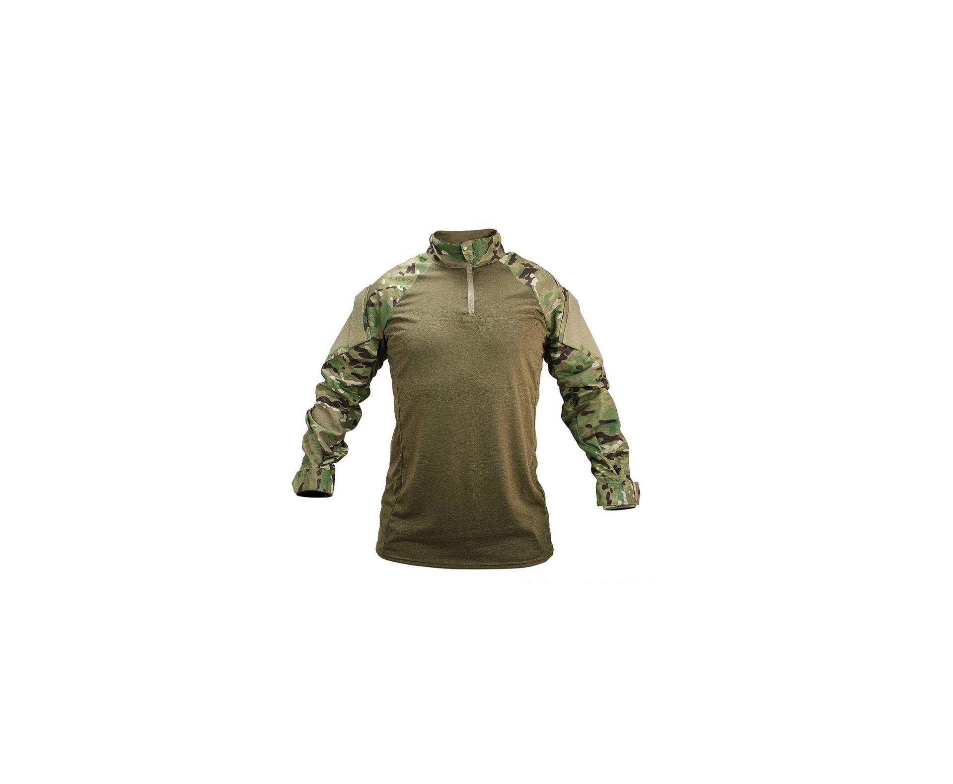 Camisa De Combate For Honor Adulto Poliester 711 Camuflado Multicam
