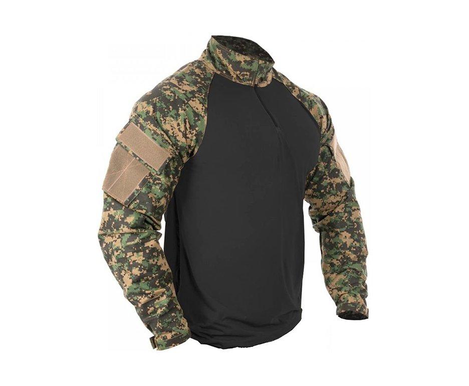 Combat Shirt Marpat Preto - Bravo