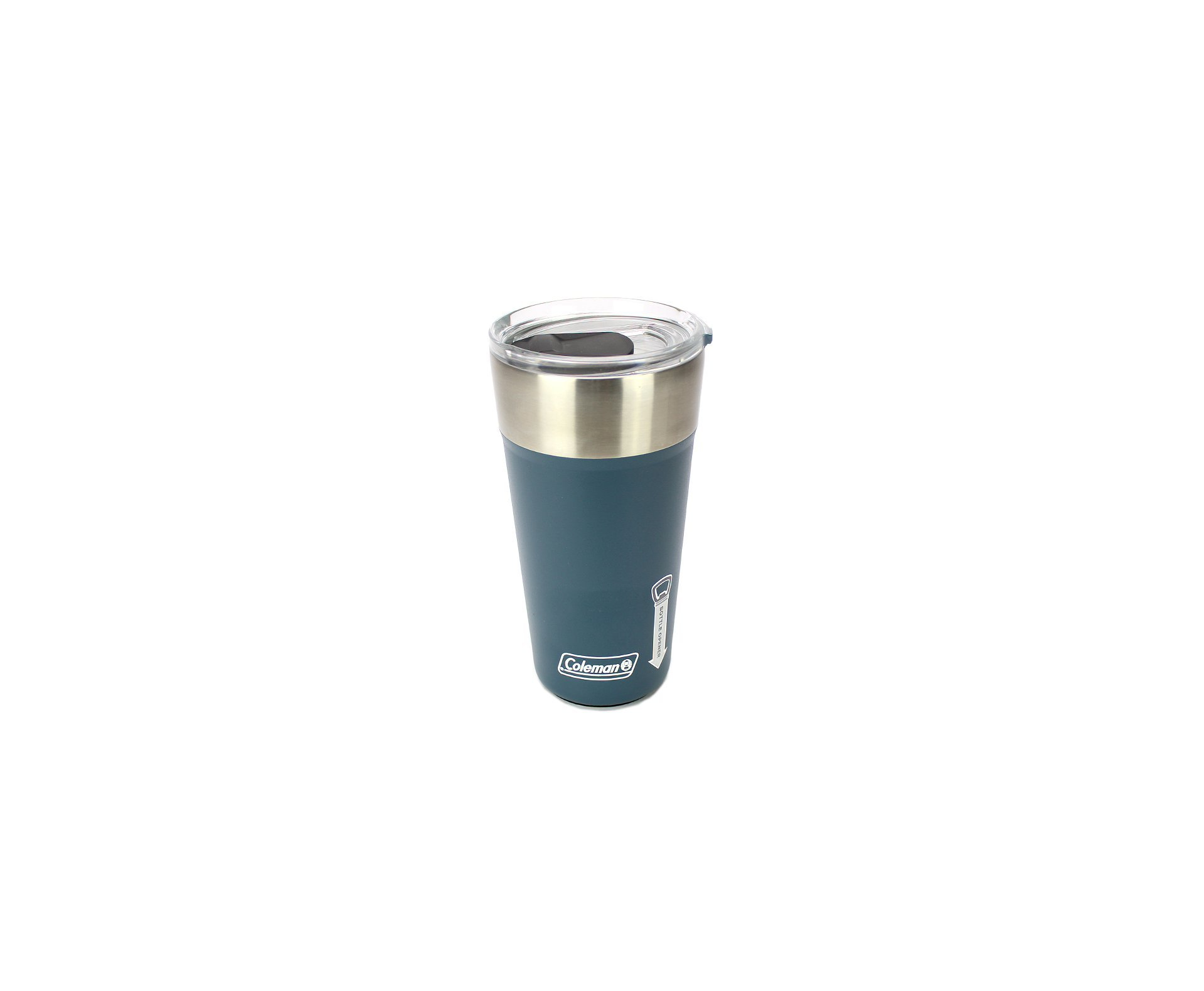 Copo Termico De Cerveja Azul Petróleo Com Tampa Inox 0.591l - Coleman