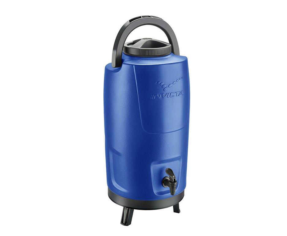 Botijão Térmico Invicta 12l Incess Blue - Conserva Quente E Frio