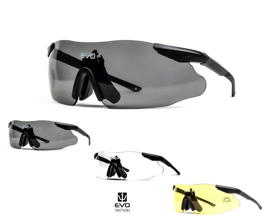 óculos De Proteção Tático Instant Preto Evo - G010bk