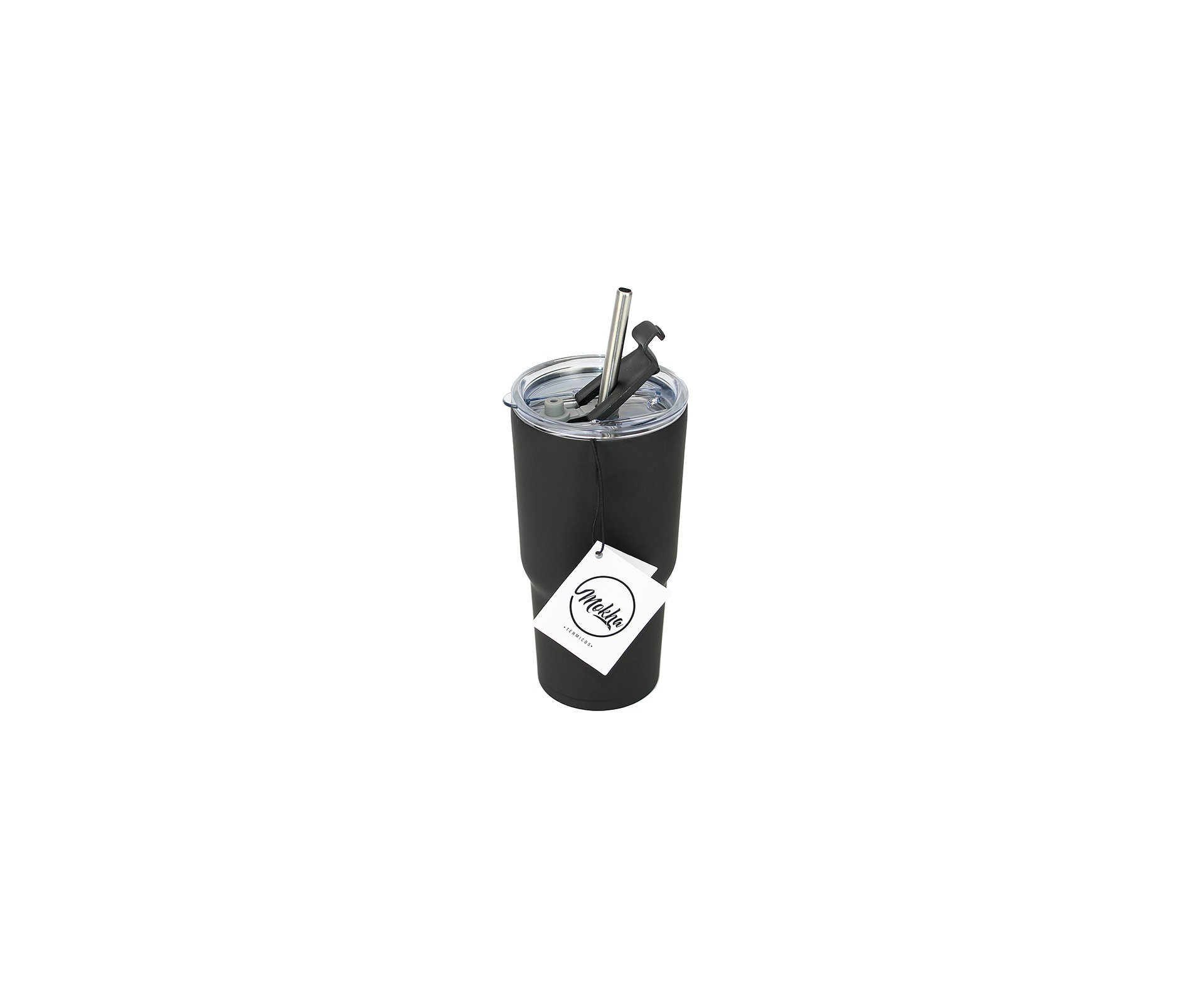 Copo Térmico Beezer Inox 600ml Cerveja Chopp Drink Preto - Mokha