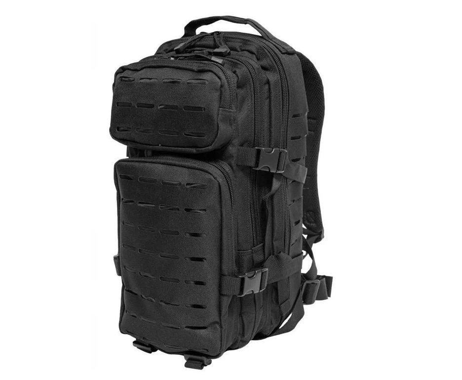Mochila Tatica Evo Tactical Us Assault Laser Cut Backpack - Black