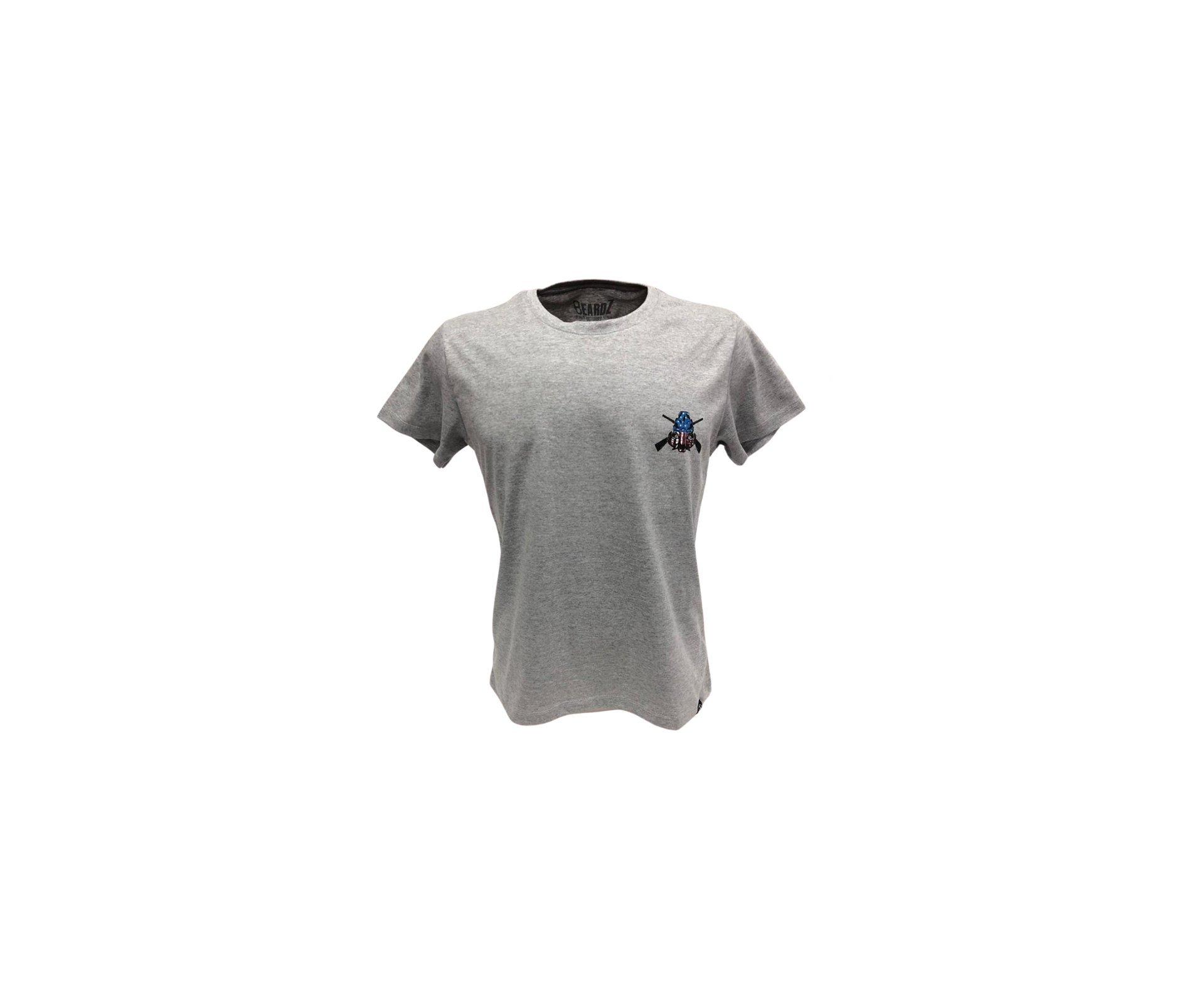 Camiseta Masculina Beardz Honor The Fallen M4 Ts40