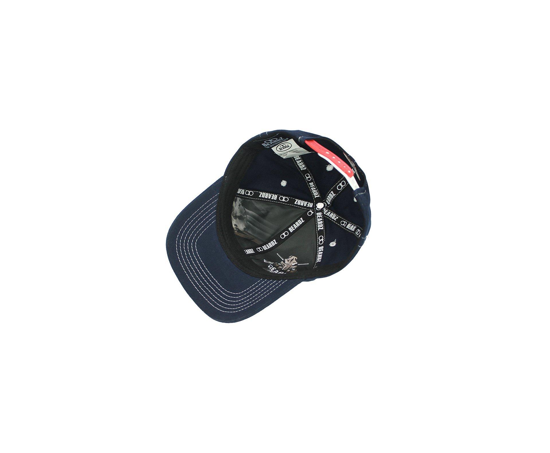 Boné Snapback Beardz Usa Navy Blue B1005