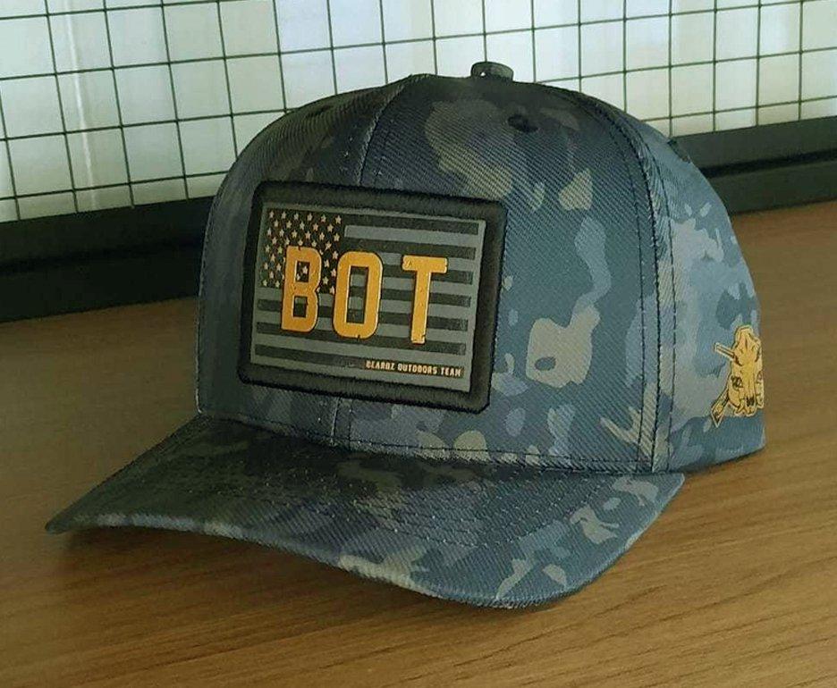 Boné Snapback Beardz Outdoors Bot Camu B1048