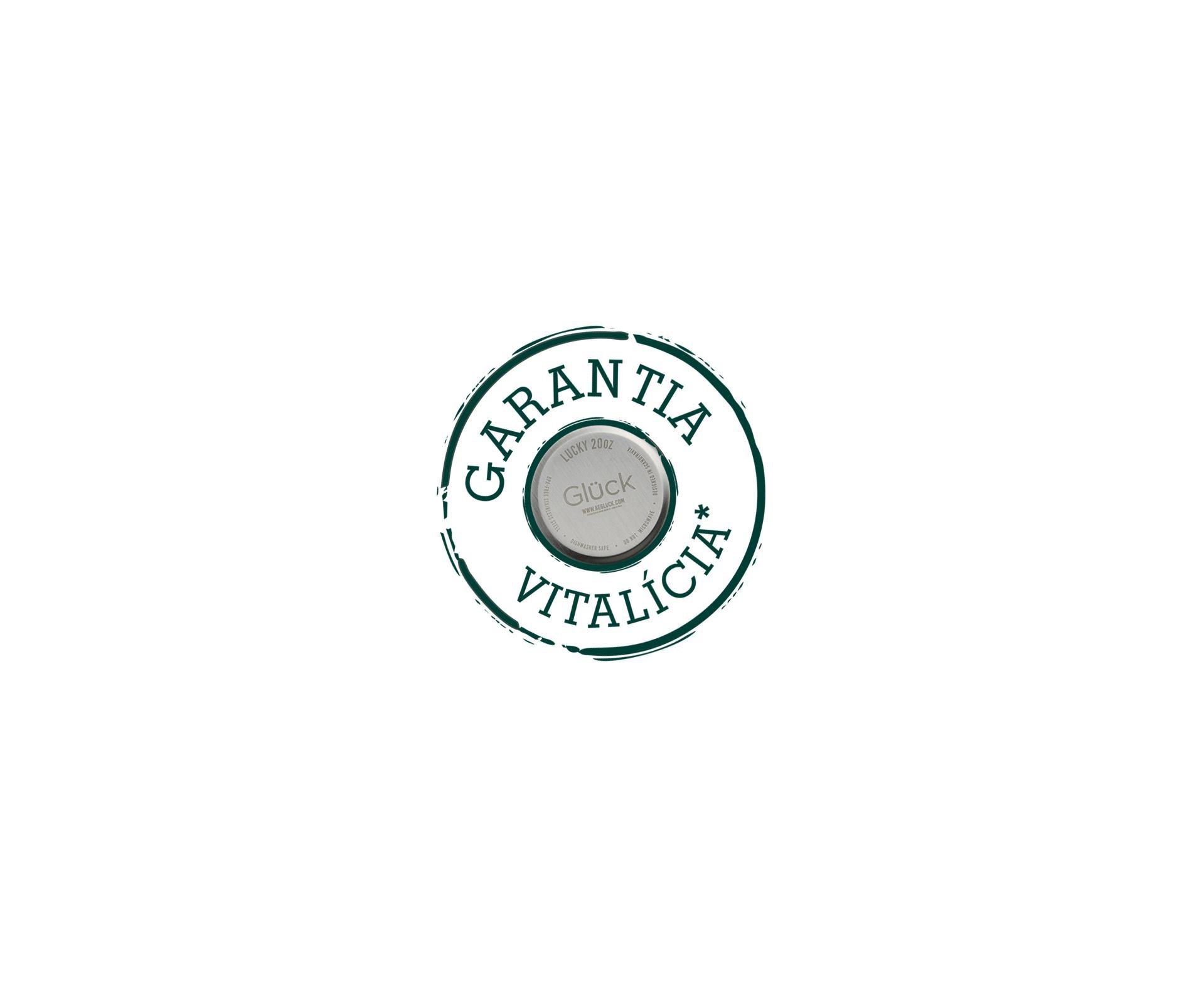 Copo Térmico Para Cerveja Lucky 591ml Inox Titanium - Gluck