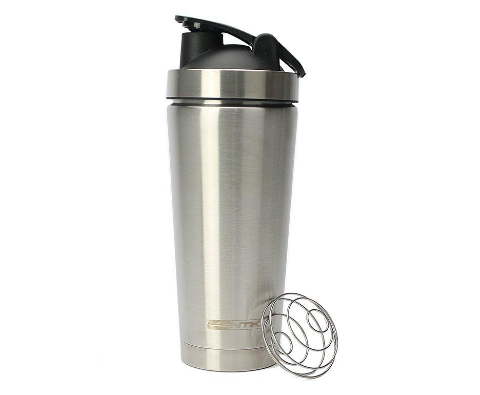 Garrafa/Copo Térmica Shake Aço Inox 710ml com tampa - Nautika