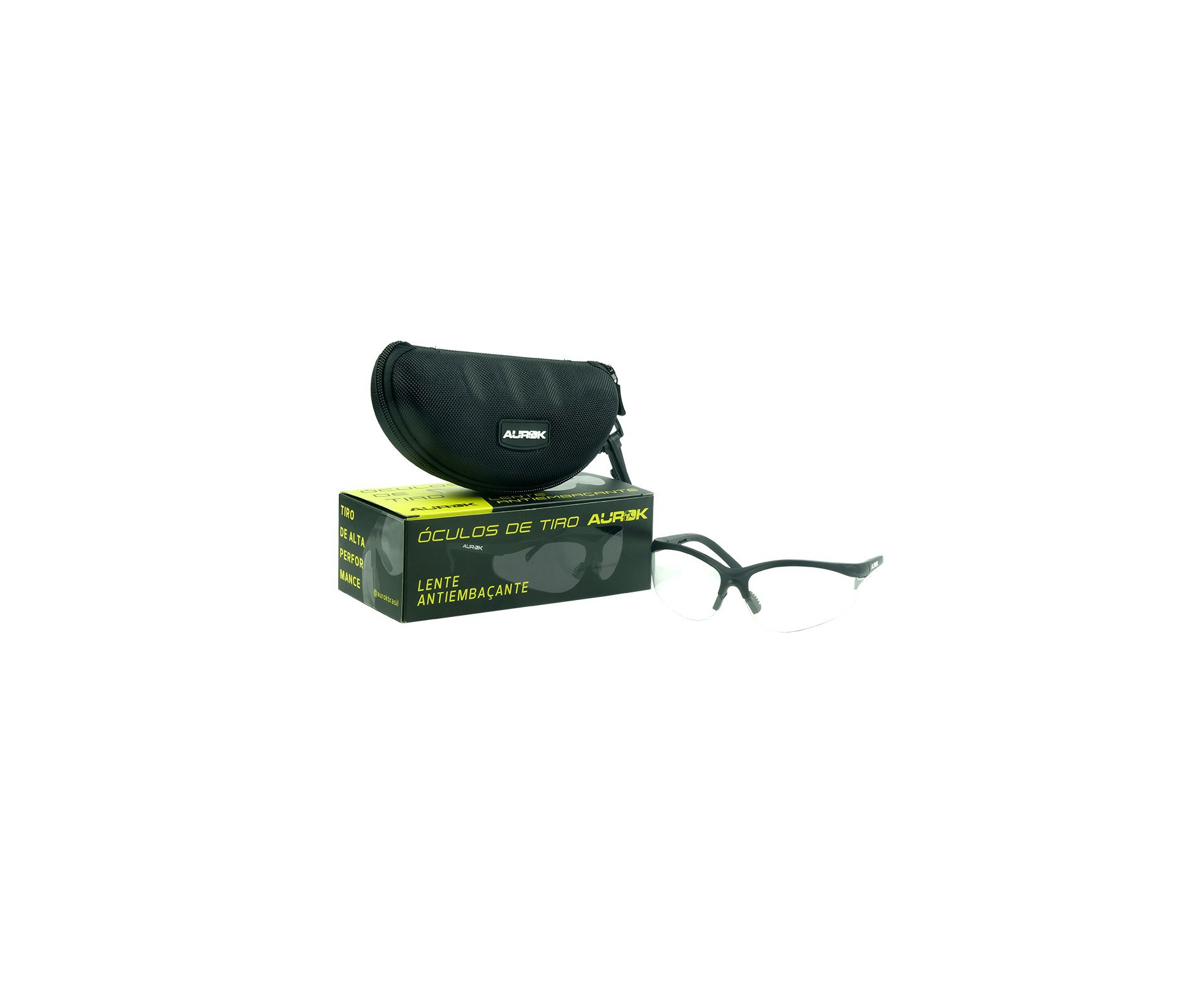 óculos De Segurança Para Tiro Esportivo Aurok Transparente