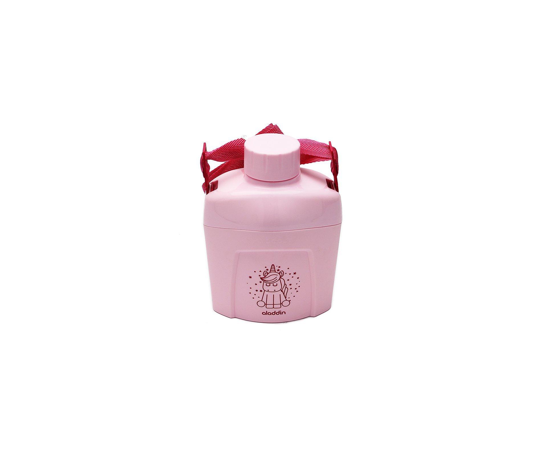 Cantil Térmico Aladdin Kids Rosa 0.60l