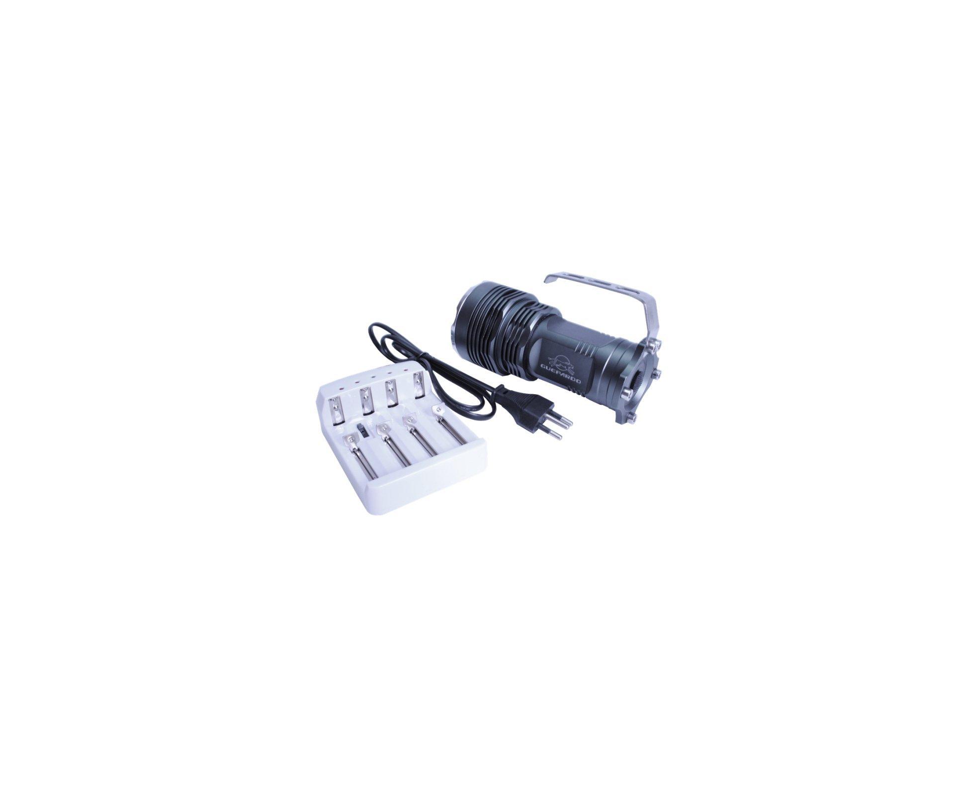Holofote Tático T6 1000 Lumens - Guepardo