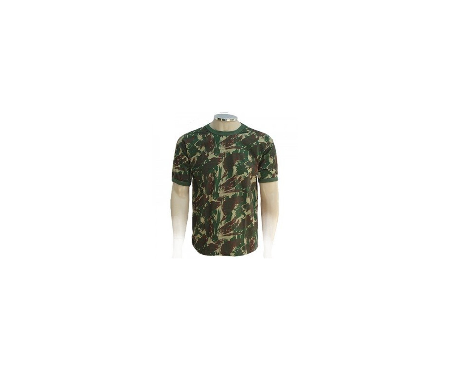 Camiseta Camuflada Padrão Eb Manga Curta - G