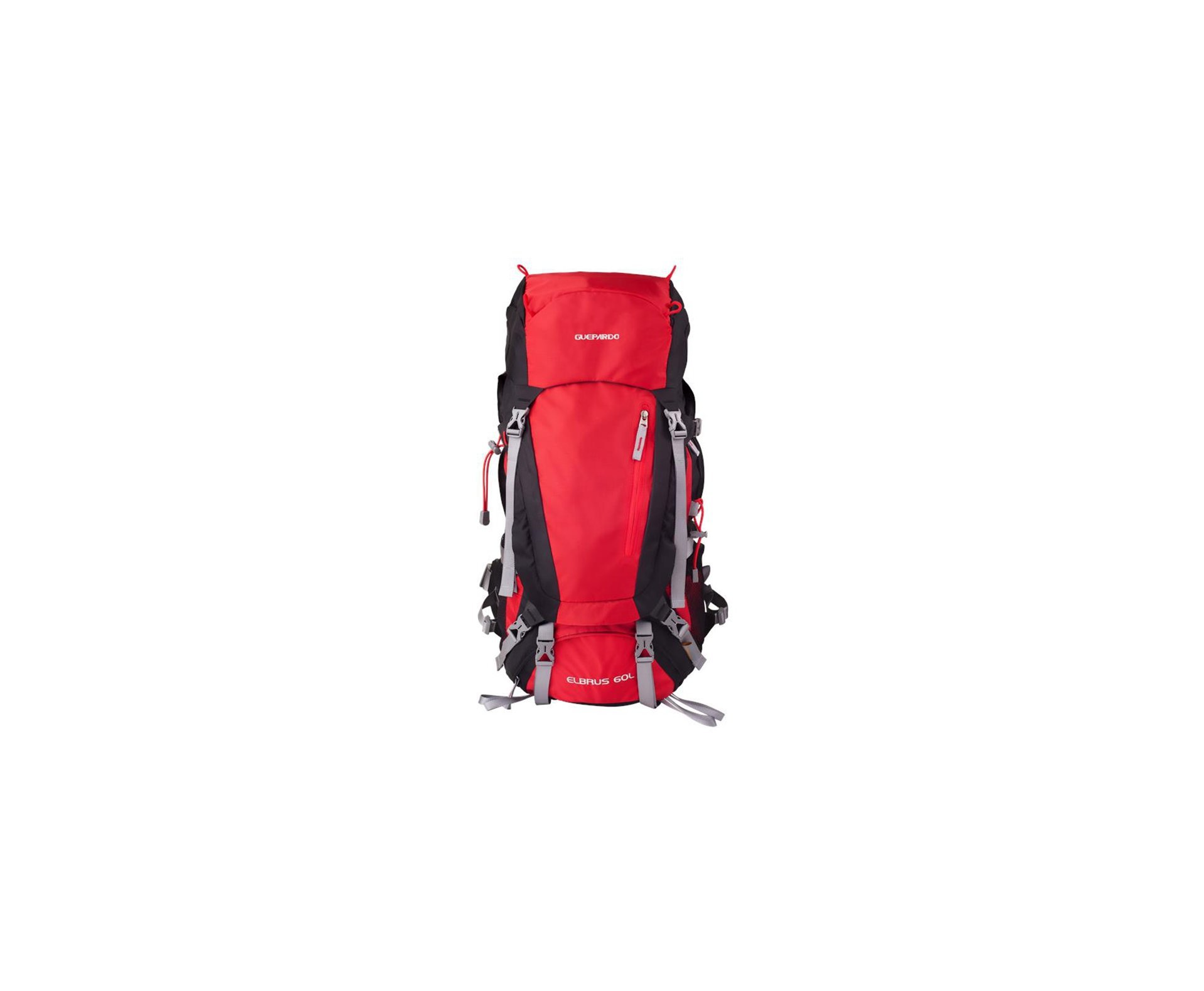 Mochila Elbrus Vermelha 60 Lts - Guepardo