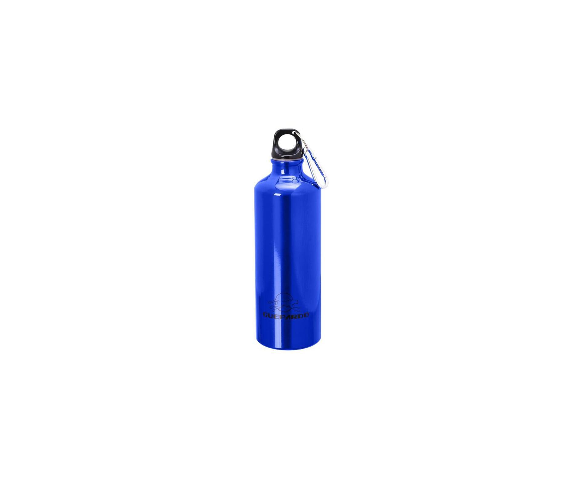 Garrafa Esportiva Azul De Alumínio 1 Lt - Guepardo