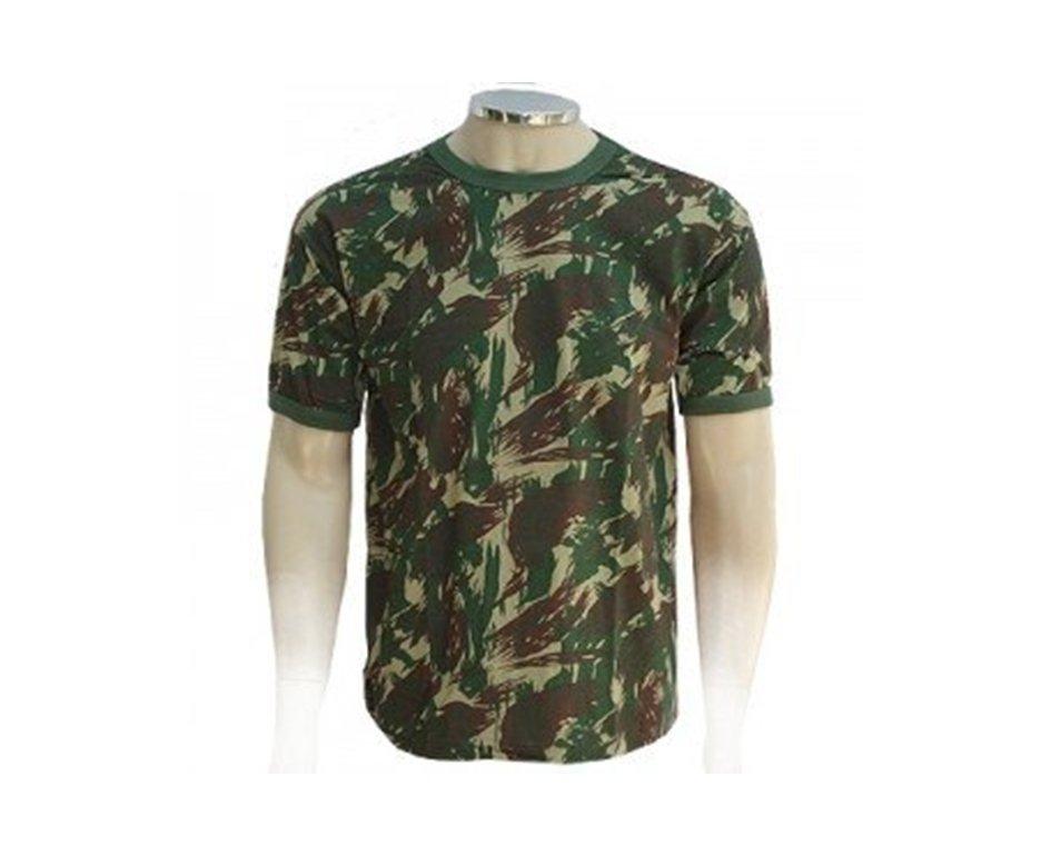 Camiseta Camuflada Padrão Eb Manga Curta - Gg