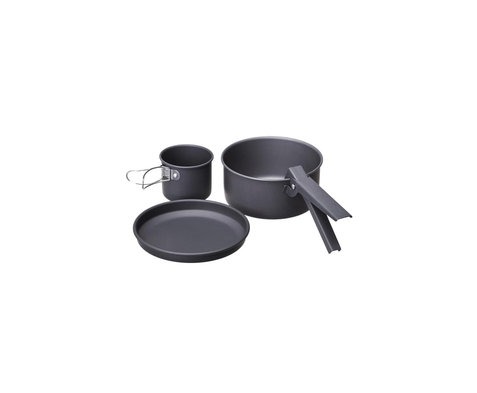 Kit Cozinha Camping Alumínio - 4 Pçs - Guepardo