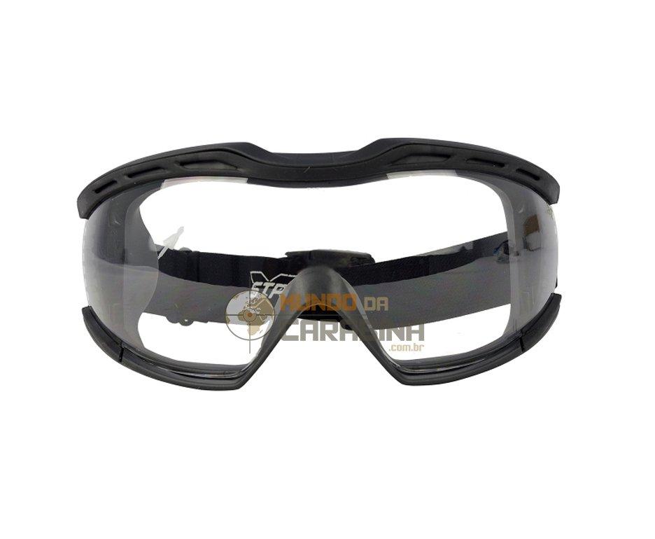 Máscara De Proteção Balistico Militar G520 Srx Balistico Incolor - Stp Extreme